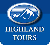 Highland Tours homepage